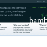 Bamboo Product Website