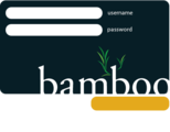 Bamboo login box