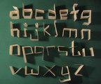 Fold - Full Alphabet typeface