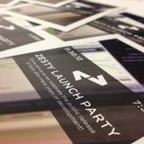 Zesty Party Invitation Close Up