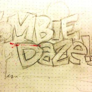 Zombie Daze Hand Drawn Title image